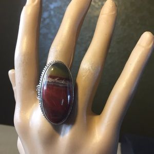 Jewelry - Beautifully designed artwork colors Red Jasper